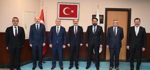 AK Parti'nin Balıkesir mesaisi hız kesmiyor AK Parti Balıkesir'den Ankara temasları
