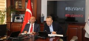 """İzmir'i dünya tarımında zirve yapmak için """"dört ilke"""" İEKKK'da tarım ve kooperatifleşme masaya yatırıldı"""