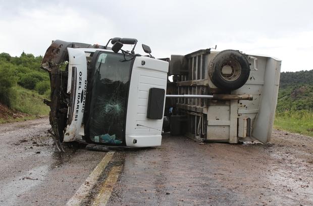 Domaniç'te trafik kazası: 1 yaralı