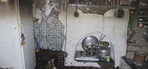 Karaman'da tek katlı müstakil evde korkutan yangın: 1 yavru kedi telef oldu Yangında yavru kedi telef oldu