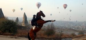 Kapadokya, İstanbul'dan sonra en fazla ziyaretçi alan bölge oldu Kapadokya, Antalya, İzmir ve Konya'yı geride bıraktı