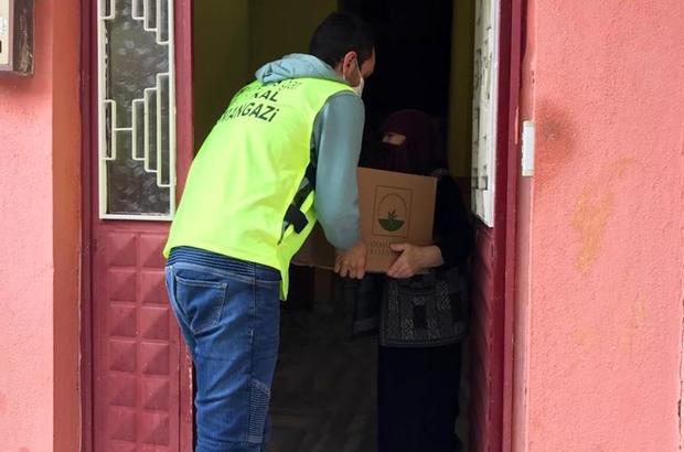 Osmangazi'de sosyal destek çalışmaları İhtiyaç sahiplerinin yüzleri gülüyor