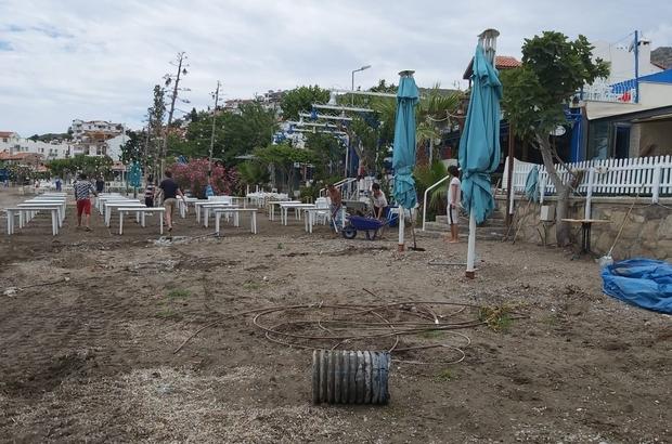 Datça'da turizm sezonu öncesi hazırlıklar devam ediyor