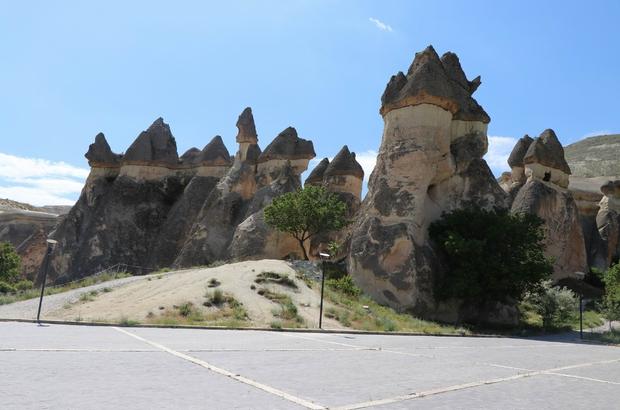 Kapadokya'da müze ve ören yerleri ziyarete açıldı İşte Kapadokya'nın ilk ziyaretçileri