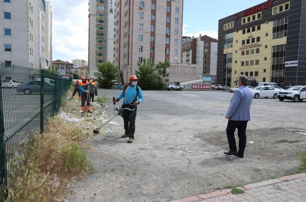 Melikgazi'de şehir merkezi daha düzenli ve temiz olacak