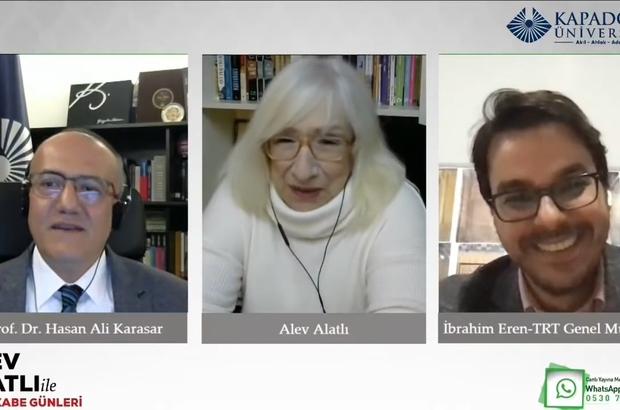 TRT Genel Müdürü İbrahim Eren, Murakabe Günleri'nin konuğu oldu