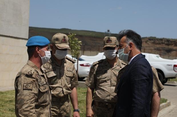 """Bitlis Valisi Çağatay'dan Özel Harekat Tabur Komutanlığına ziyaret Vali Çağatay: """"Merkez İlçe Jandarma Komutanı Binbaşı Zafer Akkuş'un kanı yerde kalmadı"""""""