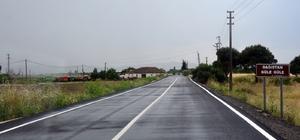 Bergama'da 370 bin metrekarelik yol düzenlemesi