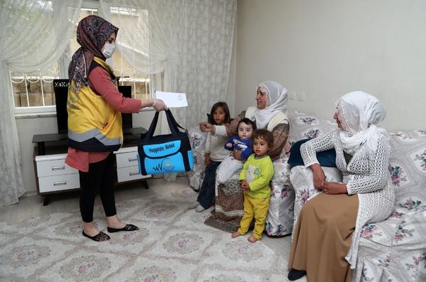 Van Büyükşehir Belediyesinden 'Hoş Geldin Bebek' projesi