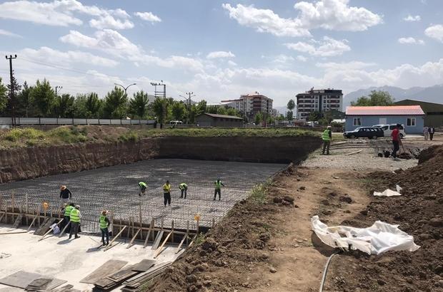 Van'daki inşaatlarda iş sağlığı ve güvenliği denetimi