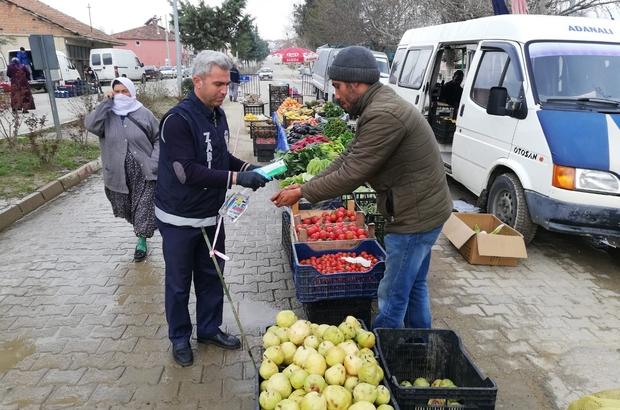 Pazarlar ilçe pazarı bu hafta da kurulmayacak