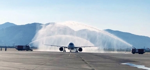 Dalaman Havalimanı uçuşlara açıldı Dalaman Havalimanında, 2 aylık bir sürecin ardından uçuşlara başlandı.