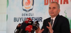 """Başkan Zolan'dan 5 Haziran Dünya Çevre Günü açıklaması: """"2004 yılında Denizli'de göz gözü görmüyordu"""" Başkan Zolan, 16 yıllık çevre yatırımlarını anlattı """"Bizim davamız, sevdamız Denizli'dir"""""""