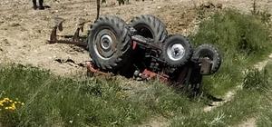 Traktörün altında kalarak hayatını kaybetti