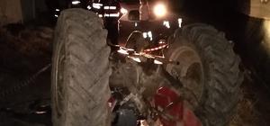 Kullandığı traktörün altında kalan tarım işçisi hayatını kaybetti