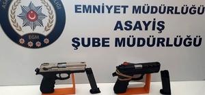 Balıkesir'de polis son 1 ayda 107 silah yakaladı
