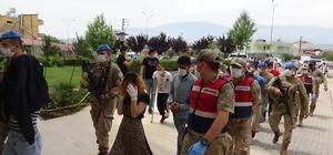 Hatay'daki uyuşturucu operasyonunda 34 tutuklama
