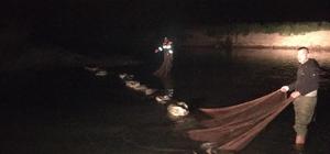 Muradiye'de kaçak avlanmış 6 ton inci kefali ele geçirildi