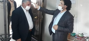 AK Parti Patnos İlçe Başkanlığı tedbirleri elden bırakmıyor.