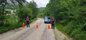 Karantinaya alınan iki köyün mahalleleri sessizliğe büründü İl dışından gelen kişi 5 kişiye virüs bulaştırdı