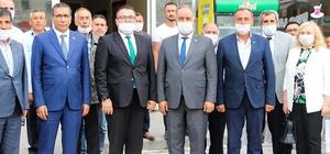 Karaarslan'dan Başkan Demirhan'a ziyaret