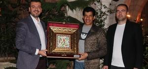 Katar'ın Ankara Büyükelçisi Salim Mübarek Al Şafi Ürgüp'te