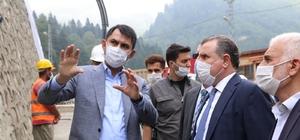 """Bakan Murat Kurum: """"Artık enkaz altında, sellerde, heyelanlarda vatandaşımızın canını aramak istemiyoruz"""" Çevre ve Şehircilik Bakanı Murat Kurum: """"Ayder Yaylası dünya merkezi haline gelecek"""""""