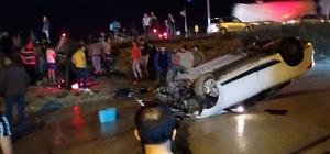 Tekirdağ'da şarampole uçan araçta 1 kişi yaralandı Sürücünün alkollü olduğu iddia edildi