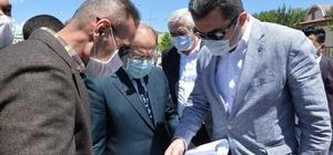 Memiş ve Akdağ Şehir Hastanesi'ni gezdi