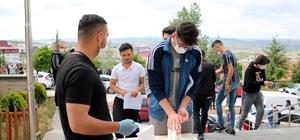 Yozgat'ta Milli Savunma Üniversitesi Sınavı heyecanı yaşandı