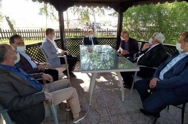 Vali Memiş ve Milletvekili Akdağ'dan Başkan Yücelik'e ziyaret