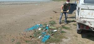 Kuş cenneti Düden Gölü güzergahı temizlendi