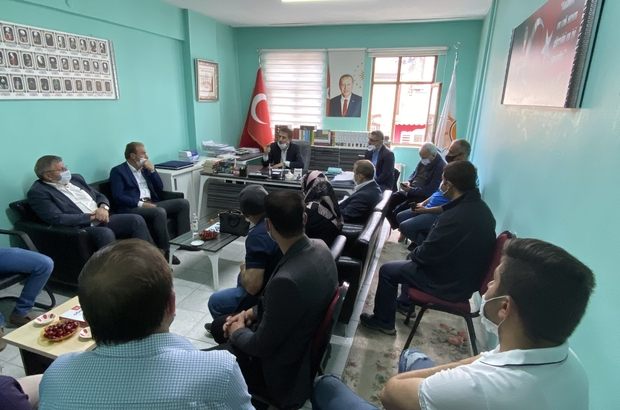 Milletvekili Aydemir: 'Dadaşlar cumhurbaşkanımıza müteşekkir' Aydemir Şehit Pullu'nun acısını paylaştı Aydemir İspirlilerle buluştu