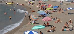 Giresun'un plajları yüzülebilir temizlikte
