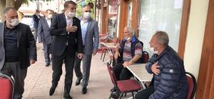 Milletvekili Aydemir'den Pazaryolu mesaisi Aydemir'den devlete minnettarlık vurgusu