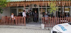 Yunak'ta maske takmayanlara 97 bin lira ceza