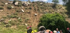 Burdur'da traktör kazası: 1 ölü