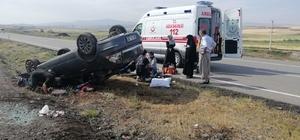 Yozgat'taki trafik kazasında aynı aileden 3 kişi yaralandı