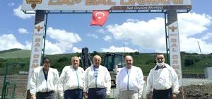 """Erzurum'da bir ilk olan""""DAP Bal Ormanı""""nın açılışı Şenkaya'da yapıldı"""