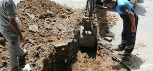 İbradı Ormana'da meskenler kanalizasyona bağlanıyor