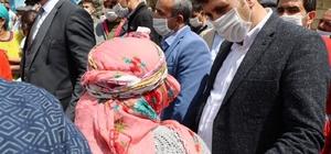 Başkan Yaşar, depremzelerini yalnız bırakmadı