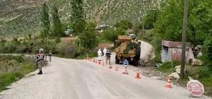 Siirt'te güvenlik korucusunun korona testi pozitif çıktı, köy karantinaya alındı