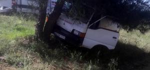 Direksiyon başında kalp krizi geçirerek kaza yapan sürücü hayatını kaybetti