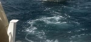 Motoru arızalanan balıkçı teknesi kurtarıldı