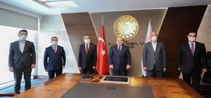 Milletvekili Arvas ve belediye başkanlarından Bakan Varank'a ziyaret