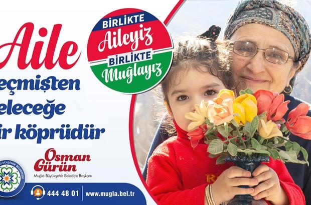 """Başkan Gürün; """"Birlikte aileyiz, birlikte Muğlayız"""" Muğla Büyükşehir Belediye Başkanı Osman Gürün """"Birlikte Aileyiz Birlikte Muğlayız"""" sloganının Muğla'yı 13 ilçesiyle bir bütün olarak anlattığını ve birleştirdiğini söyledi."""