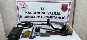 """Kaçak kazı yapanlara 15 bin 750 TL """"sosyal mesafe"""" cezası uygulandı"""