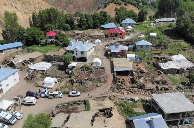 """AFAD: """"Bingöl depreminde 22 yapı yıkıldı, 214 yapı ağır hasar gördü"""""""