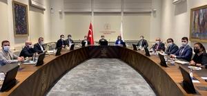Vali Becel ve Başkan Arı, Kültür ve Turizm Bakanlığında değerlendirme toplantısına katıldı