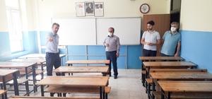 Yunak'da okullar LGS'ye hazır